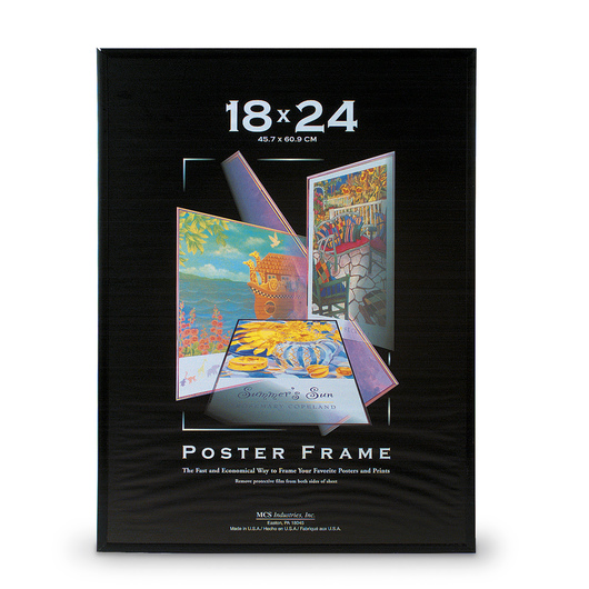 Black Poster Frame - 18 in. x 24 in.