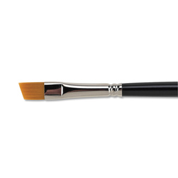 Nasco Pro-formance Taklon Angular Shader Brush - 1/4 in.