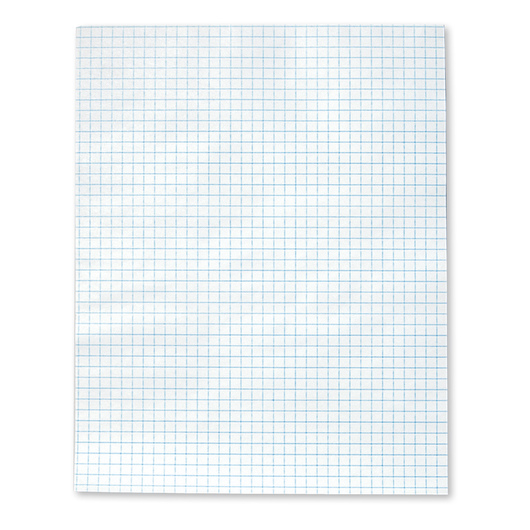 Economy Graph Paper - 8-1/2 in. x 11 in. Pad