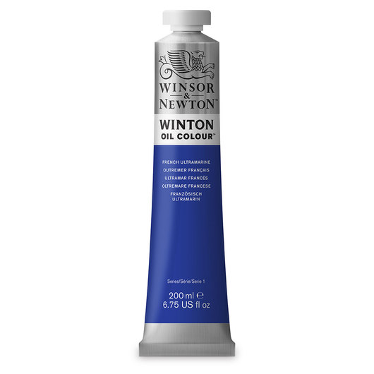 Winsor & Newton™ Winton Oil Color 6.75 oz. (200 ml) Tube - French Ultramarine