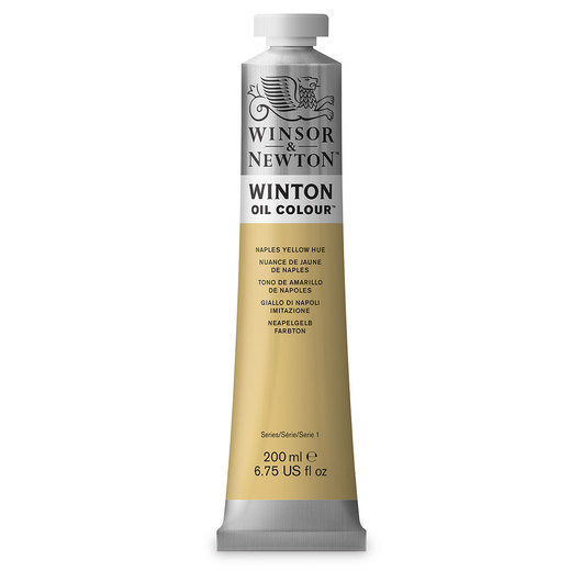 Winsor & Newton™ Winton Oil Color 6.75 oz. (200 ml) Tube - Naples Yellow Hue