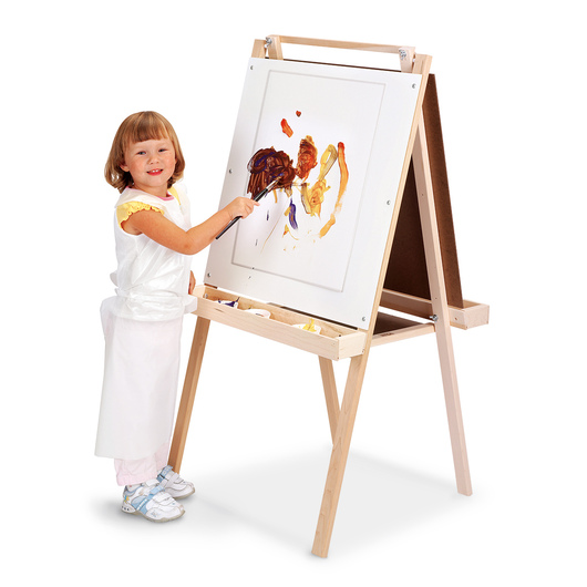 Children's Maple Easel - 24 in. x 24 in.