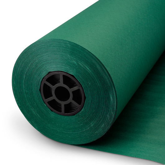 Pacon® Rainbow® Colored Kraft Duo-Finish® Paper Roll - Emerald