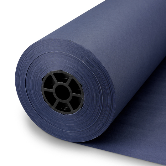 Pacon® Rainbow® Colored Kraft Duo-Finish® Paper Roll - Dark Blue