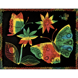 Multicolor Scratch-Art® Paper - Pkg. of 50