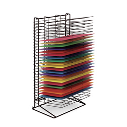 Wall Hugger 30-Shelf Drying Rack