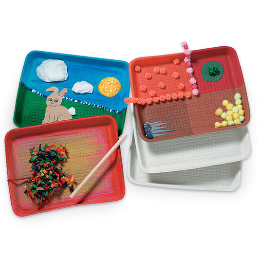 Cardboard Collage Trays - Pkg. of 25 - 8 in. x 11 in.