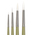 Nasco <q>Pro-formance™</q> Synthetic Rounds - Set of 4 Brushes