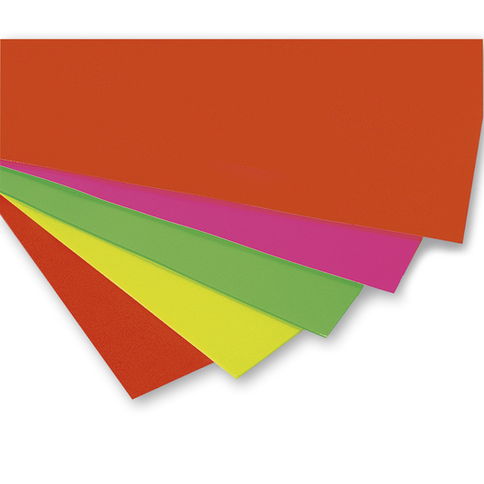 Fluorescent Poster Board - Pkg. of 50, 22 in. x 28 in., 145 lb.