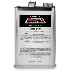 Dural SuperDuty Mounting Cement Thinner