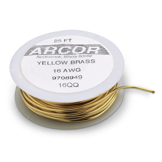 Soft Brass Wire - 16 Gauge - 25 ft.