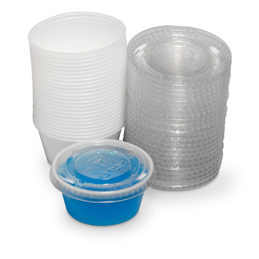 Art Utility Cups and Lids - Pkg. of 25, 3-1/4 oz.