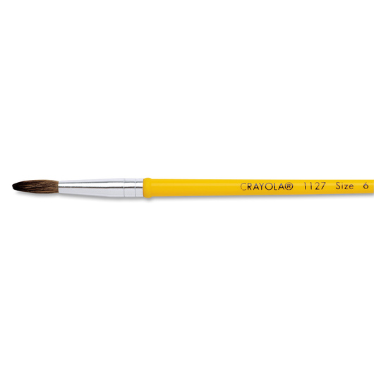 Crayola® Plastic Handle Watercolor Brush #1127 - Size 6