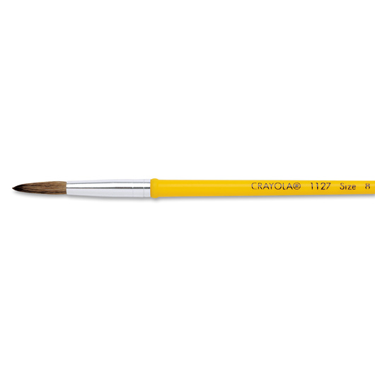 Crayola® Plastic Handle Watercolor Brush #1127 - Size 8
