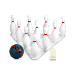 Weighted Bowling Set with 5-lb. Ball