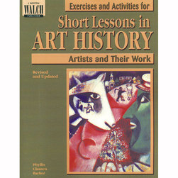 Exercises and Activities for Short Lessons Art History - Artists and Their Work