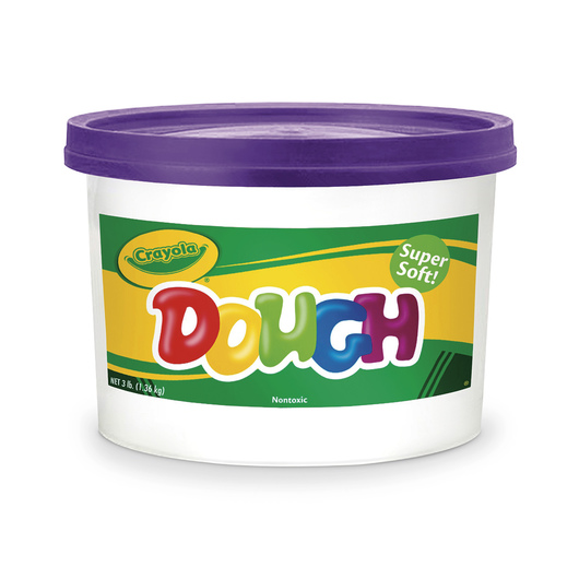 Crayola® Dough Reusable Modeling Compound - Purple, 3-lb. Bucket