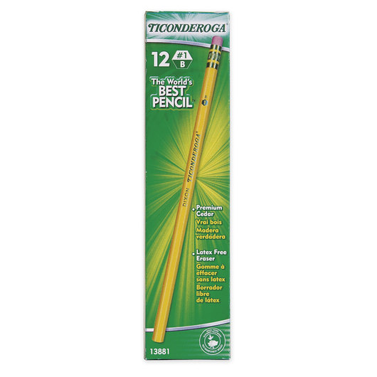 Ticonderoga® Pencils - No. 1 (B) Extra Soft