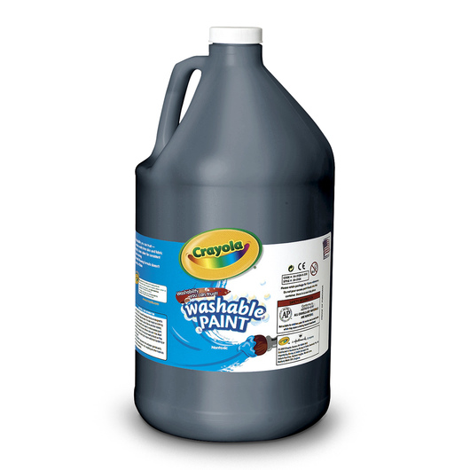 Crayola® Washable Paint - Gallon - Black