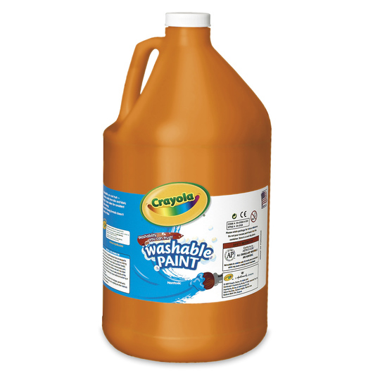 Crayola® Washable Paint - Gallon - Orange