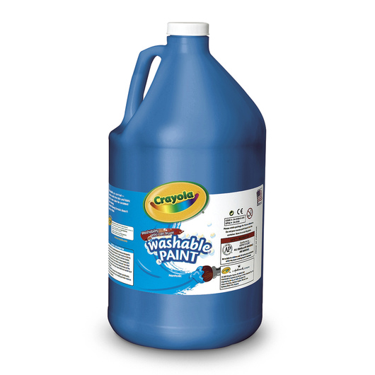 Crayola® Washable Paint - Gallon - Blue