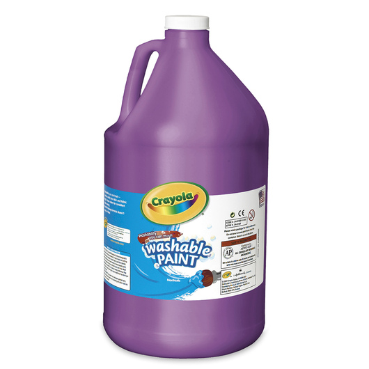 Crayola® Washable Paint - Gallon - Violet