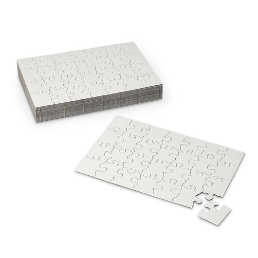 Blank Puzzles - 5-1/2 in. x 8 in., 28 Pieces