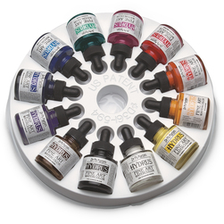 Dr. Ph. Martin's® Hydrus® Fine Art Watercolors - Set #1 - 12 - 1-oz. Bottles