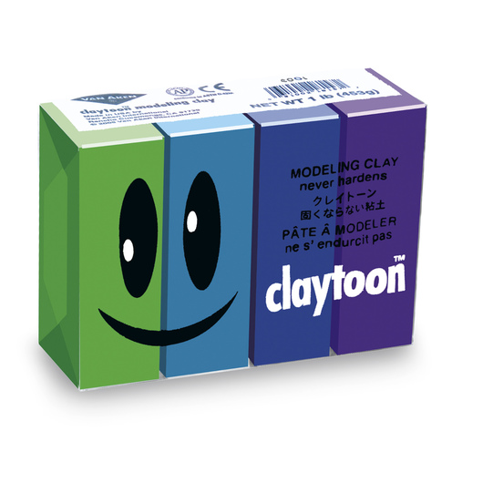 Van Aken® Claytoon™ Cool Colors Set - 1-lb. Pkg.