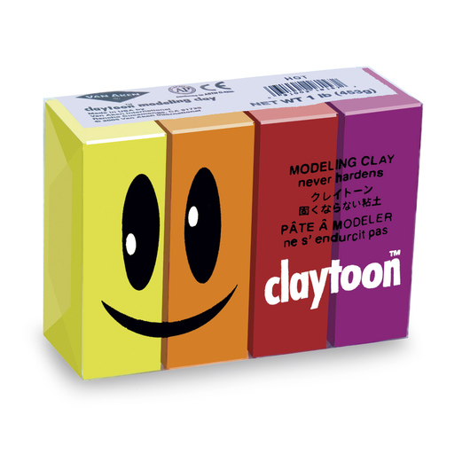 Van Aken® Claytoon™ Hot Colors Set - 1-lb. Pkg.