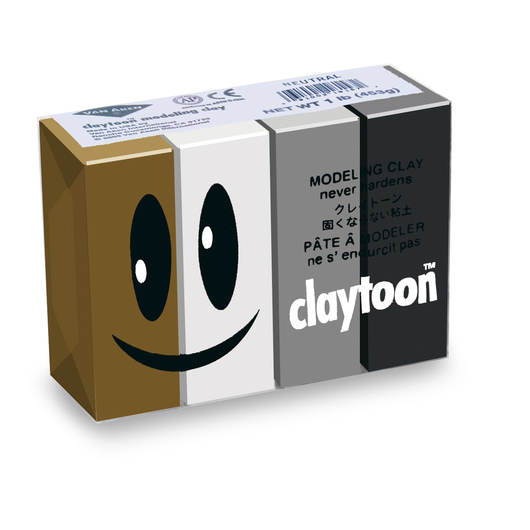 Van Aken® Claytoon™ Neutral Colors Set - 1-lb. Pkg.