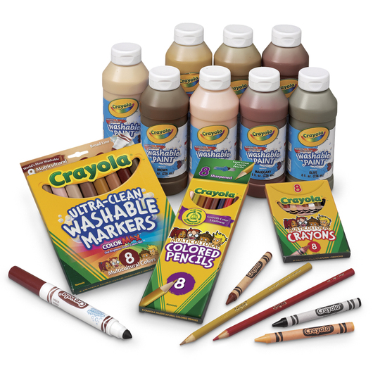 Crayola® Super-Size Multicultural Assortment