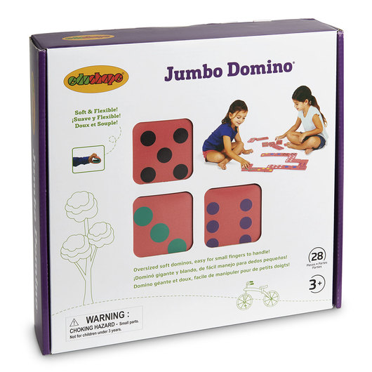 Jumbo Dominoes - Set of 28