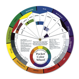 Pocket Color Wheel™ with Gray Scale - 5-1/8 in. dia. - Pkg. of 12