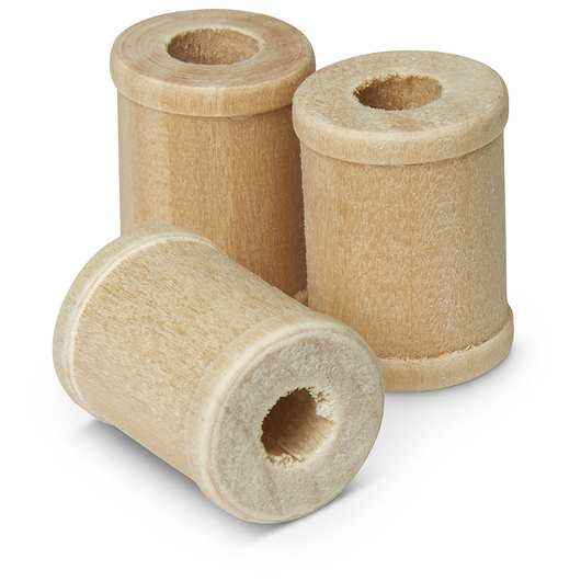 Miniature Wooden Spools - Pkg. of 100