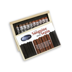 Jack Richeson® Sanguine and Sepia - Set of 20