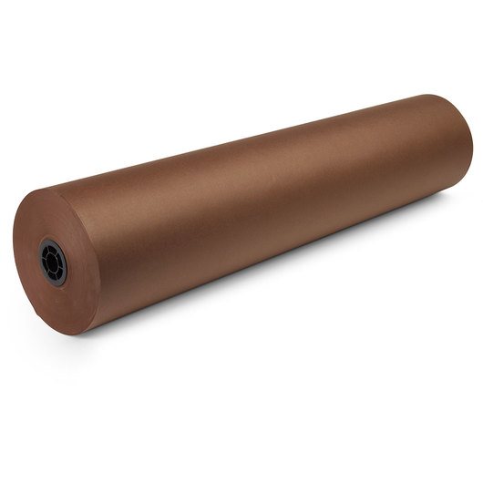 Dual-Finish Kraft Roll - 36 in. x 1,000-ft. - Brown