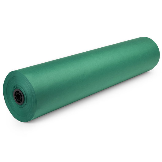 Dual-Finish Kraft Roll - 36 in. x 1,000-ft. - Green