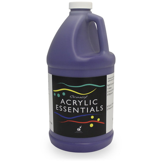 Chromacryl® Acrylic Essentials - Purple - 1/2-Gallon Bottle