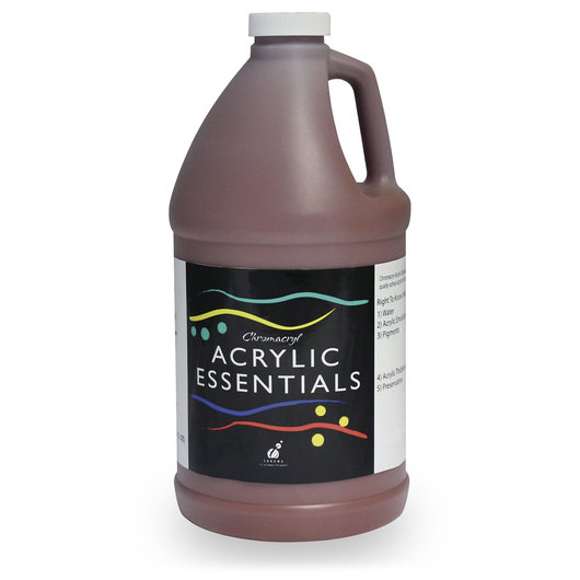 Chromacryl® Acrylic Essentials - Burnt Sienna - 1/2-Gallon Bottle