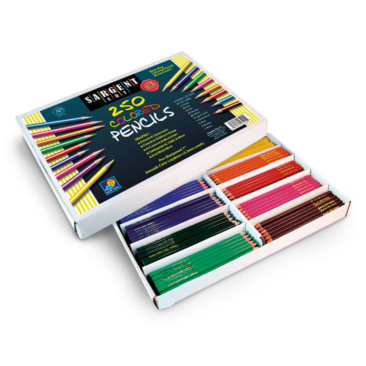 "Sargent Art® ""Best Buy"" Colored Pencils - Classroom Pack of 250"