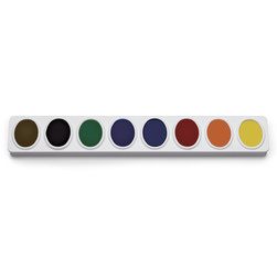 Nasco Country School Oval Pan Watercolor Set