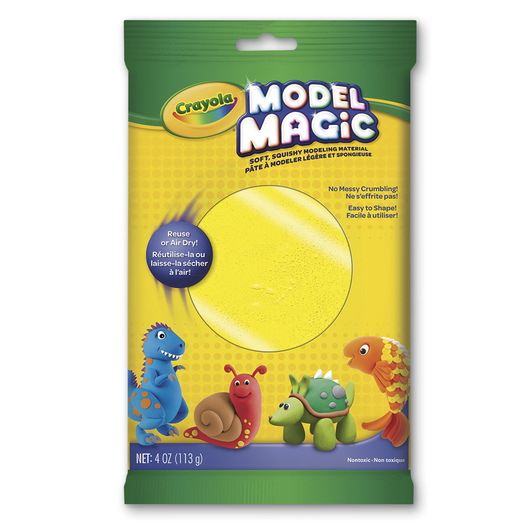 Crayola® Model Magic® Modeling Compound - 4-oz. Pkg. - Yellow