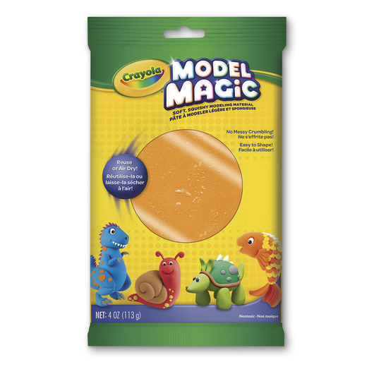 Crayola® Model Magic® Modeling Compound - 4-oz. Pkg. - Orange