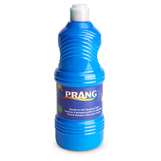 PRANG® Ready-To-Use Tempera - Turquoise Blue - Quart