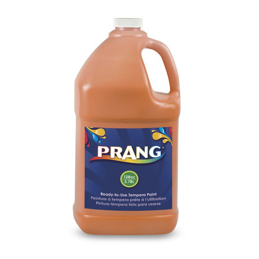 PRANG® Ready-to-Use Tempera Paint - Gallon - Orange