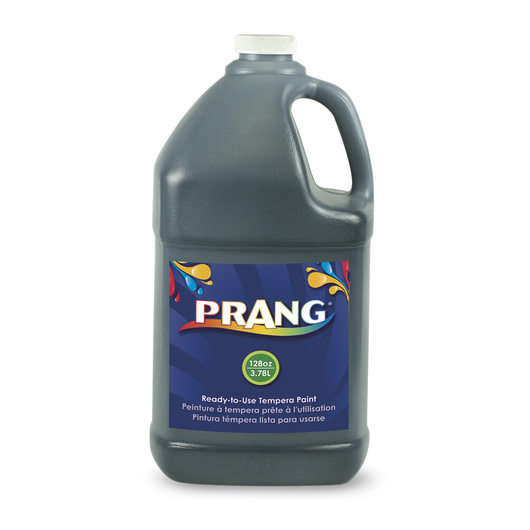 PRANG® Ready-to-Use Tempera Paint - Gallon - Black