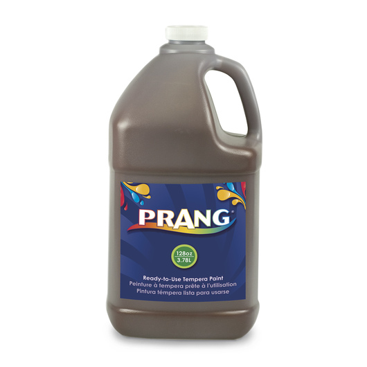 PRANG® Ready-to-Use Tempera Paint - Gallon - Brown