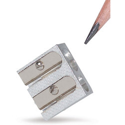 Twin-Hole Pencil Sharpener