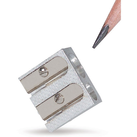 Twin-Hole Pencil Sharpeners - Pkg. of 20